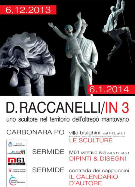 D. Raccanelli in 3 a Sermide (MN) e Carbonara PO (MN)