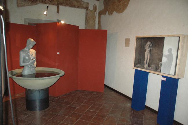 Galleria Mostra Scultura Revere settembre ottobre 2012